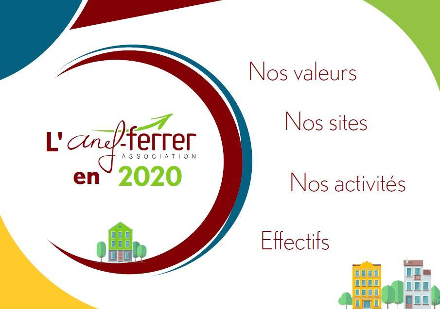 L'ANEF-FERRER en 2020